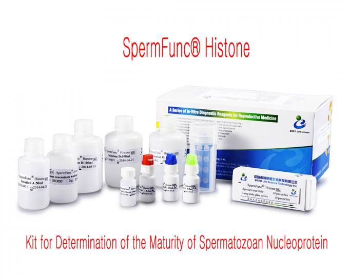 40T/Kit Sperm Vitality Test Kit For Detection Human Spermatozoan Nucleoprotein Maturity