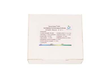 China Serum Assay Anti Mullerian Hormone Test Kit / Elisa Assay Kit For Adult Females factory